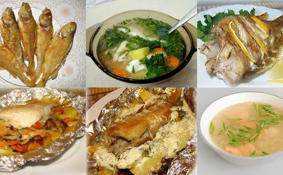 Блюда из окуня, рецепты с