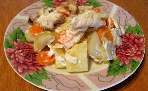 Как приготовить филе рыбы в