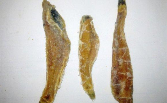 Бычок азовский без шкуры. Рыба
