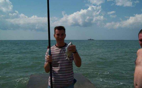 Ловля морских карасей в Черном